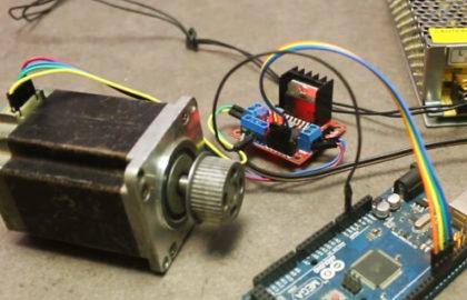 Control DC Motor CW/CCW with MPU-6050 Gyro/Accelerometer + Arduino
