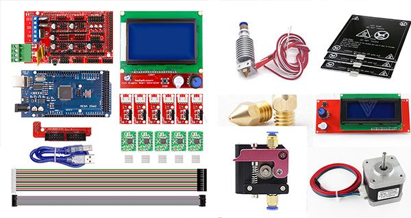 Complete List of DIY 3d Printer Parts | Circuit Magic